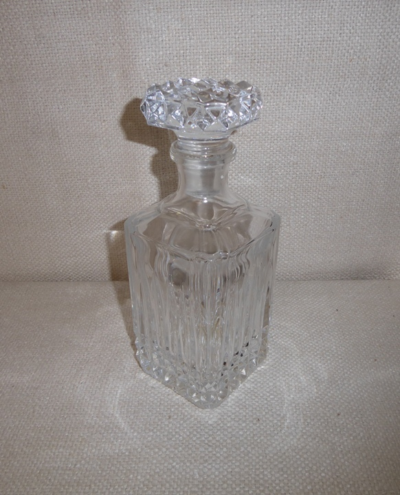 Square-Top Decanter