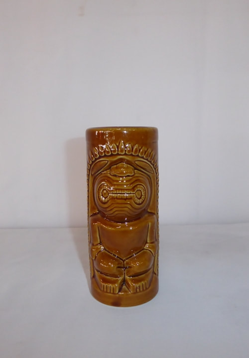 Tiki Mug Orchids of Hawaii