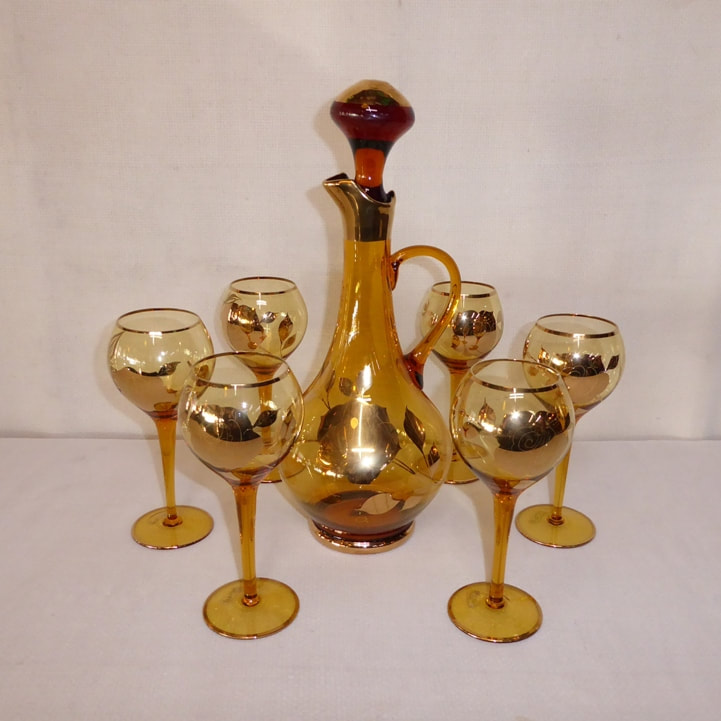 Toscany Decanter Glasses