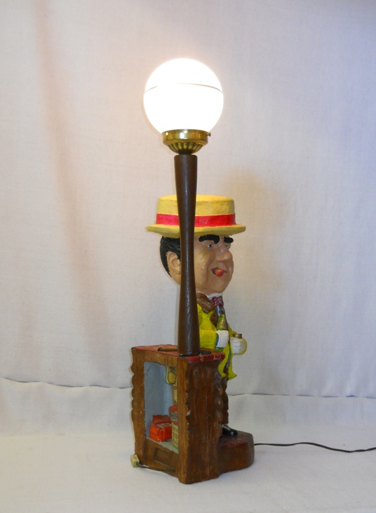 W.C. Fields Lamp